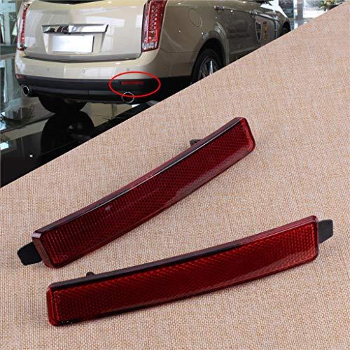 Stoßstangen-Reflektor links und rechts, 25881881 25881882, passend für Cadillac SRX Chevrolet Traverse GMC Acadia Saturn Outlook, 1 Paar