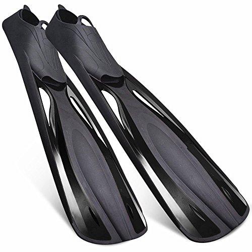 Subobo Schwimmflossen Tauchflossen Flossen der Männer und der Frauen, die Schwimmen-Flossen zum Schwimmen, Wasseraktivität Schnorcheln Einfach zu bedienen für zusätzlichen Komfort (Größe : L)