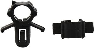 Sourcingmap 30Pcs Negro Cierre Remaches de Arn/és de Cables Grapa para Veh/ículo 9mmx6,5mm