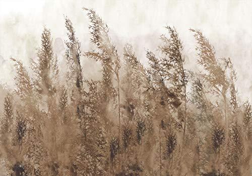 decomonkey Fototapete Natur 300x210 cm Design Tapete Fototapeten Vlies Tapeten Vliestapete Wandtapete moderne Wand Schlafzimmer Wohnzimmer Herbst