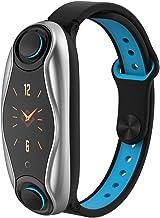 PADY-Wearable Technology T90 2 in 1 دستبند هوشمند بی سیم هدست بلوتوث دسته کوچک موسیقی جاز در حال اجرا موسیقی مچ بند هدفون ضربان قلب فشار خون ردیاب تناسب اندام