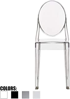 2xhome g. Victoria (Clear) Dining Chair