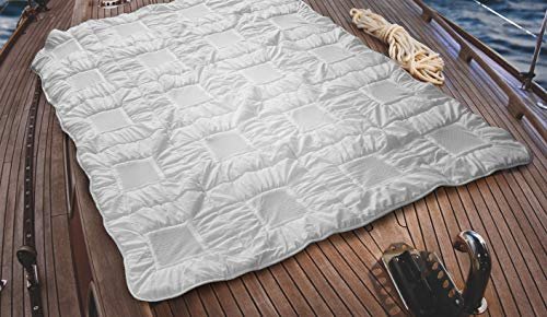 Clima Balance - Lightweight Down Alternative Comforter Queen - All-Season Soft Comforter - Hypoallergenic Shell, Filling - Machine Washable - REM Sleep Improvement, Body Temperature Regulation