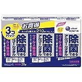 エリエール 除菌できるアルコールタオル ウイルス除去用 詰替(210枚(70枚*3P))