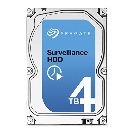 Seagate ST4000VX000 Festplatte (4TB) Silber