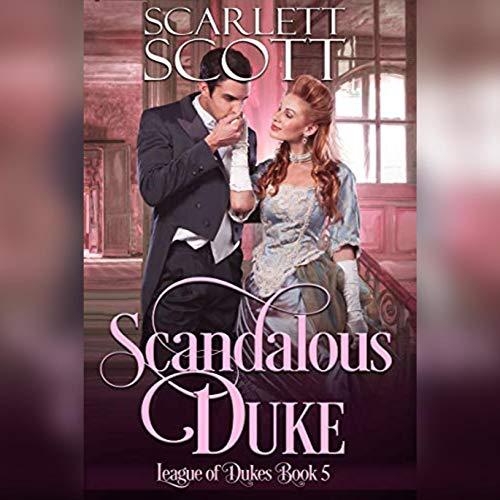 Scandalous Duke audiobook cover art
