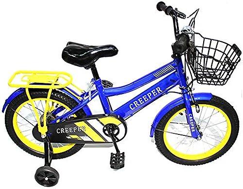 CARWORD Kinderfürrad fürr r für M er und Frauen Kinderwagen 14 Zoll 2-11 Jahre alt mit Flash Training Wheel Geschenke