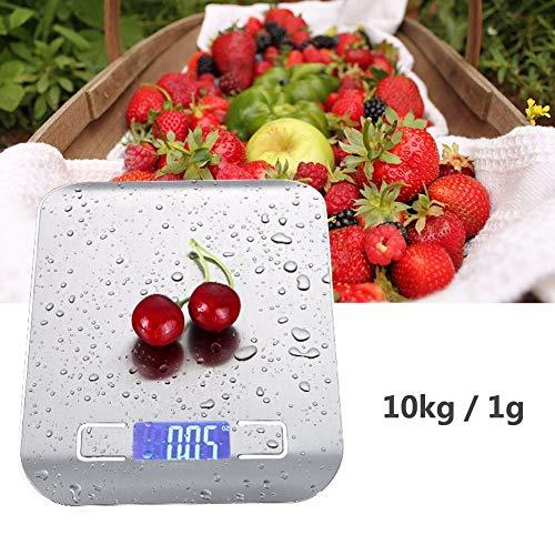 Een nauwkeurigheid van 10 kg / 1G elektronische weegschaal elektronische weegschaal voedselschaal 1G digitale draagbare keuken