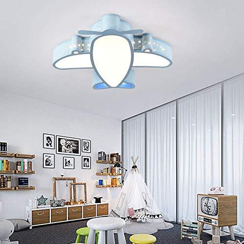Lámpara de Techo de avión de acrílico Candelabro de Dibujos Animados LED Habitación de niños Dormitorio Niños Niñas Iluminación Pasillo Pintura Ambiental (Color: Blanco, Tamaño: Luz Blanca)