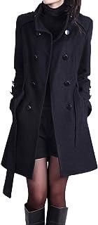 Abrigos Mujer Invierno, Rebecas Casual con Botón Moda Suéter Parkas de Manga Larga Clásico - Foseen MuRope Ropa Mujer Otoñ...