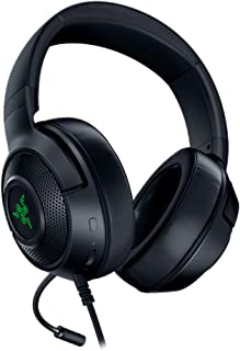 Razer Kraken X USB Gaming Headphones with Digital Surround Sound (7.1 Surround Sound, Flexible Cardioid Microphone, Ultral...