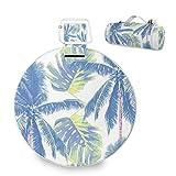 Mr.XZY Manta de picnic grande con diseño de palmera tropical, con respaldo impermeable para acampar al aire libre, picnic 2010094
