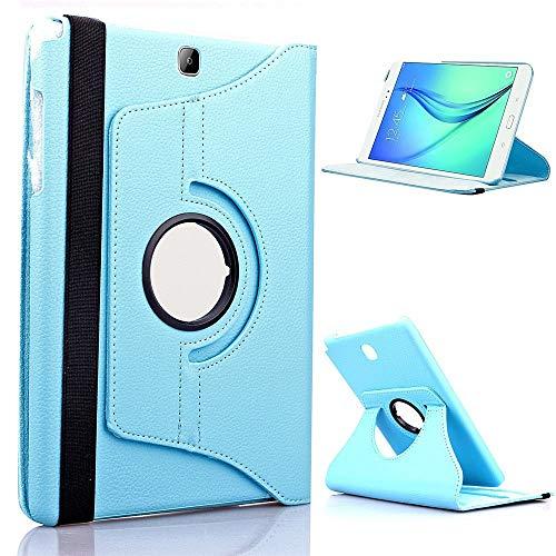 GHC Pad Fundas & Covers para LG G Pad 8.3, Caja de la Tableta 360 Soporte Giratorio Flip Pliegue de la Cubierta de Cuero para LG G Pen 8.3 V500 GPAD 8.3'V510 GPAD8.3 (Color : For 360 Sky Blue)