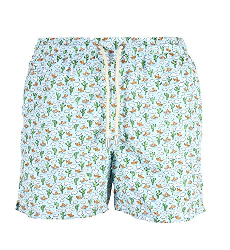 MC2 SAINT BARTH - LIGHT SWIM SHORT MICRO FANTASIA - HOLA MEXICO