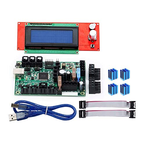 Gimax 3D Printer Accessories Mini-Rambo 1.3 Recommended for Mainboard Surprise price Set Pr