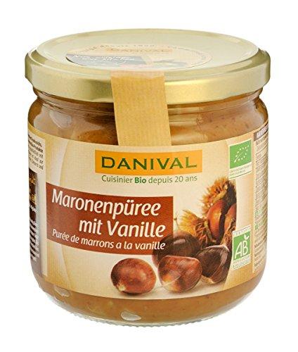 Danival Maronenpüree m. Vanille, 380 g
