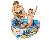 Smart Planet® Planschbecken Paw Patrol aufblasbar - 120 x 82 x 26 cm - Bootsform - Kinderpool - Babypool - Schwimmbecken - Aufstellpool - Boot