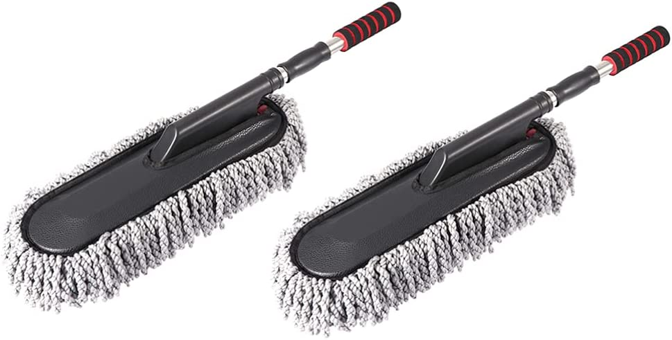 FAVOMOTO 2pcs Car Dashboard Windshield Brush New popularity Cleaning Duster Manufacturer OFFicial shop