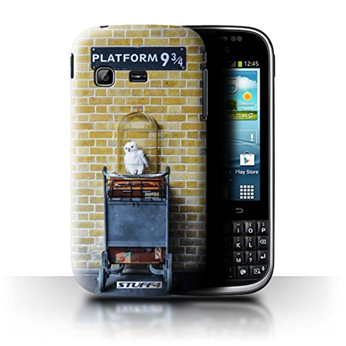 STUFF4 Telefoonhoesje/Hoes voor Samsung Galaxy Chat/B5330 / Platform 9 3 Qrts Design/London Sites Collection