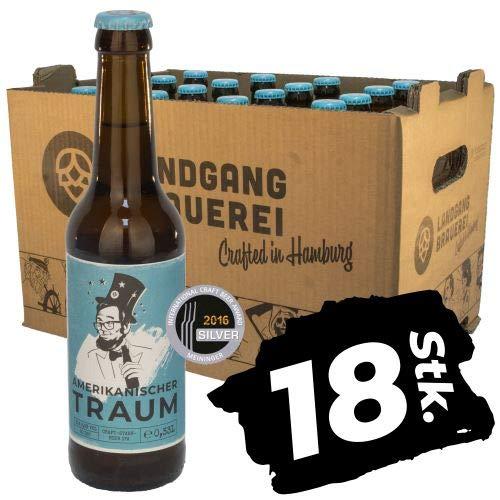 Landgang Brauerei - Amerikanischer Traum/India Pale Ale 18er Karton (18 x 0,33l)