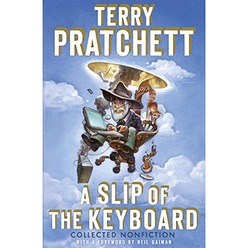 A Slip of the Keyboard audiobook cover art