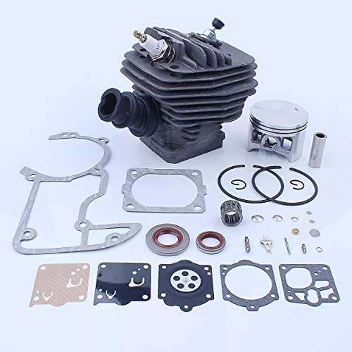 Mtanlo 56mm Big Bore Cylinder Piston Gasket Kit for Stihl MS660 066 MS640 MS650 064 Chainsaw Replacement Parts Nikasil Coated