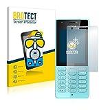 BROTECT 2X Entspiegelungs-Schutzfolie kompatibel mit Nokia 216 Bildschirmschutz-Folie Matt, Anti-Reflex, Anti-Fingerprint