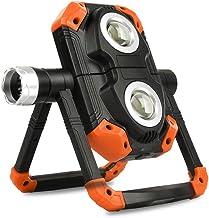 YOUANG Led-werklamp, USB-oplaadbaar, 360 graden draaibare en opvouwbare magnetische standaard werklamp voor autoreparatie,...