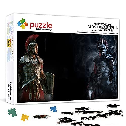 """Mini puzzle da 1000 pezzi per adulti Ryse Son of Rome 15""""x 10"""" Puzzle da 1000 pezzi per adulti"""