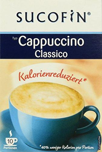 SUCOFIN Cappuccino Classico 6er Pack, 6 x 60 g, kalorienreduziert