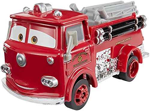 Cars Vehículo Deluxe Red, coche de juguete (Mattel FJJ00)