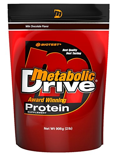 Metabolic Drive Protein, Whey Isolate, Micellar Casein (1 Pack (2 lb), Chocolate)
