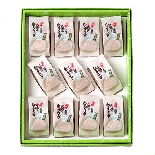『寿製菓 因幡の白うさぎ 抹茶餡(11ヶ入)』の3枚目の画像