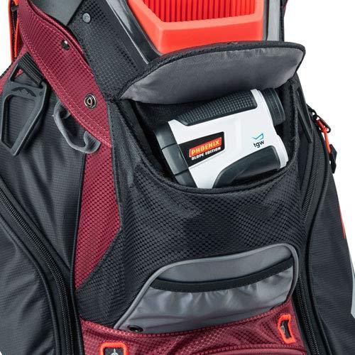Product Image 2: Sun Mountain C-130 Cart Bag Golf Black/Garnet/Gunmetal/Inferno 2020 New