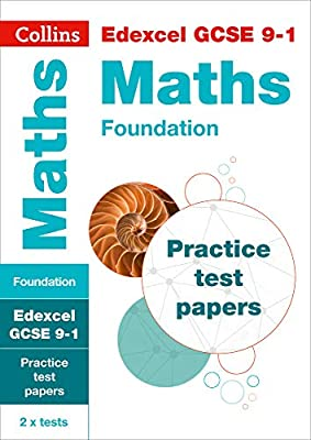 Edexcel GCSE 9-1 Maths Foundation Practice Test Papers (Collins GCSE 9-1 Revision) from Collins