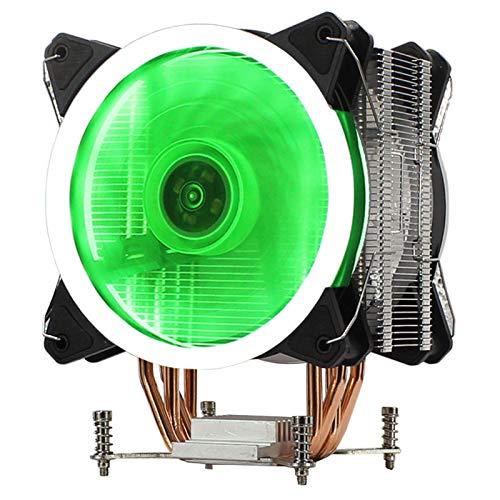 lizeyu Ventilador de la CPU de la placa base de un solo canal ultra silencioso del refrigerador de la CPU
