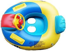 Hamkaw Beb/é Inflable Anillos De Nado Flotador Bote Entrenador Asiento Piscina Quitasol Coche Inflable Flamenco Juguetes para La Piscina para Beb/és Beb/és Y Ni/ños Nadar La Seguridad Juguete De Agua