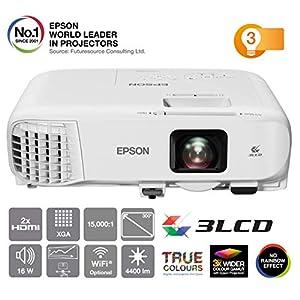 Epson EB-945H video - Proyector (3000 lúmenes ANSI, 3LCD, XGA ...