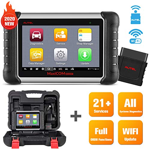 Autel MaxiCOM MK808BT Diagnostic Scan Tool, 2020 Newest Upgraded Ver. of MK808 MX808, All Systems Diagnosis, 25 Special Functions, IMMO Keys, ABS Bleed, Oil Reset, EPB, SAS, BMS, DPF