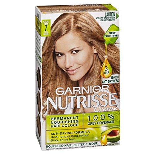 Garnier Nutrisse Permanent Hair Colour 7.0 Almond Crème