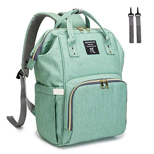 Diaper Bag Backpack, Nanrui Waterproof 25L Roomy Baby...