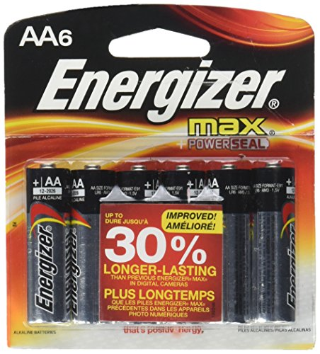 Energizer Max AA Batteries - 6 Pack