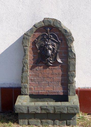 Unbekannt Großer Löwenkopf Brunnen inkl. Pumpe Löwe Figur