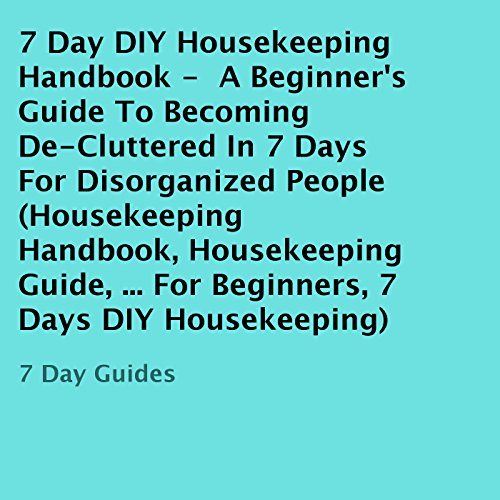 7 Day DIY Housekeeping Handbook audiobook cover art