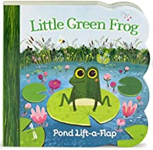 Little Green Frog Chunky Lift-a-Flap Board Book (Babies Love)