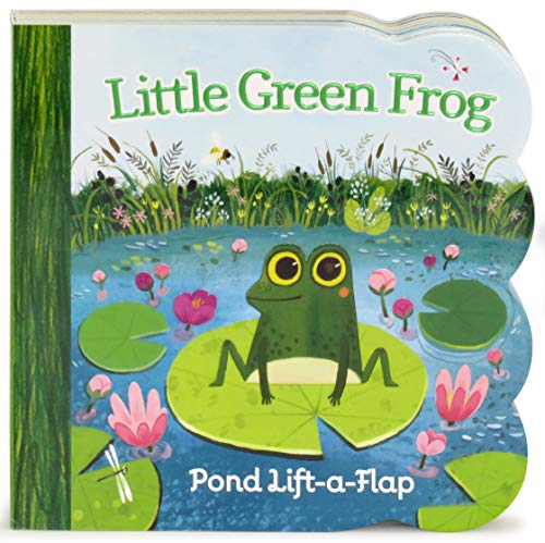 Product Image of the Little Green Frog Chunky Lift-a-Flap Board Book (Babies Love)