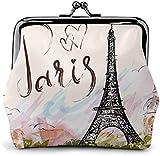 DIs Les Célèbres Paris Tour Eiffel Femmes 'S Portefeuille Boucle Porte-Monnaie Poche-verrou Changer Voyage Portefeuilles De Maquillage