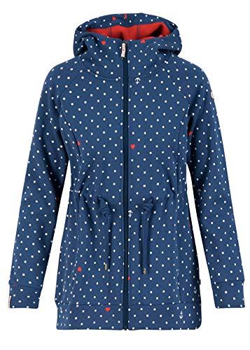 Blutsgeschwister Fleecejacke The Beauty of The East Coat, Damen, Größe 44 (XXL), Love The (Blau)