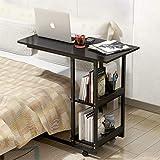 Mesa de ordenador FakeFace con ruedas, mesa de cama, mesa de escritorio, cama, sofá, mesa auxiliar, mesa de cama, mesa de noche, mesa de desayuno, para el hogar