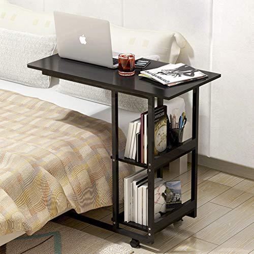 Mesa giratoria para sofá, mesa de café, mesa de cama, soporte para ordenador portátil, mesa multiusos, altura ajustable, 2 modelos de mesa auxiliar para dormitorio, salón 🔥